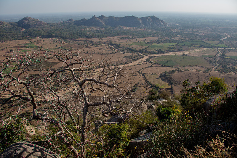 Mountain Top near Jain Derasar (Temple) at  Taranga, North Gujarat.