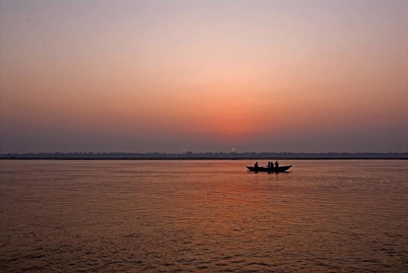 Sunrise Ganges