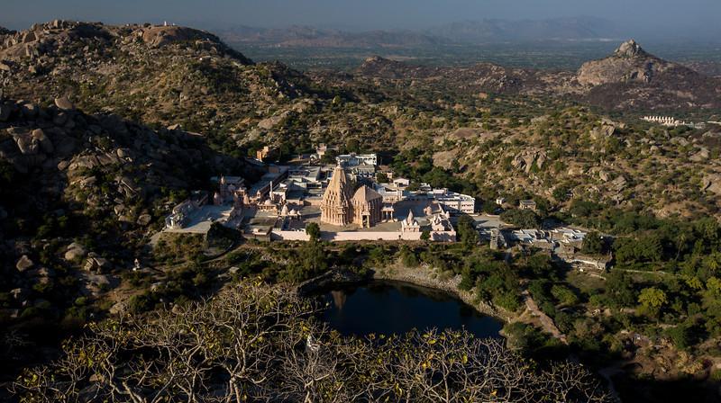 Jain Derasar (Temple) at  Taranga, North Gujarat.