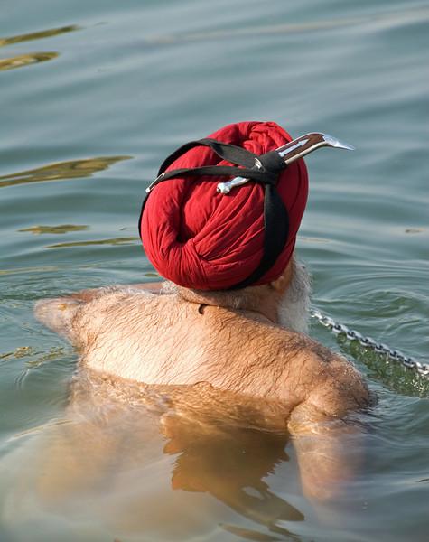 Bathing Amritsar