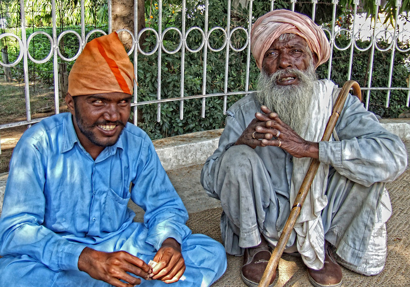 Father and Son Punjab India