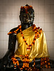 Black Buddha, Nalanda, Bihar, India.