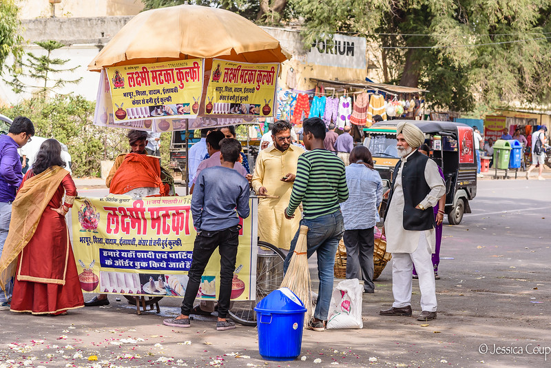 Vendor Outside the Palace