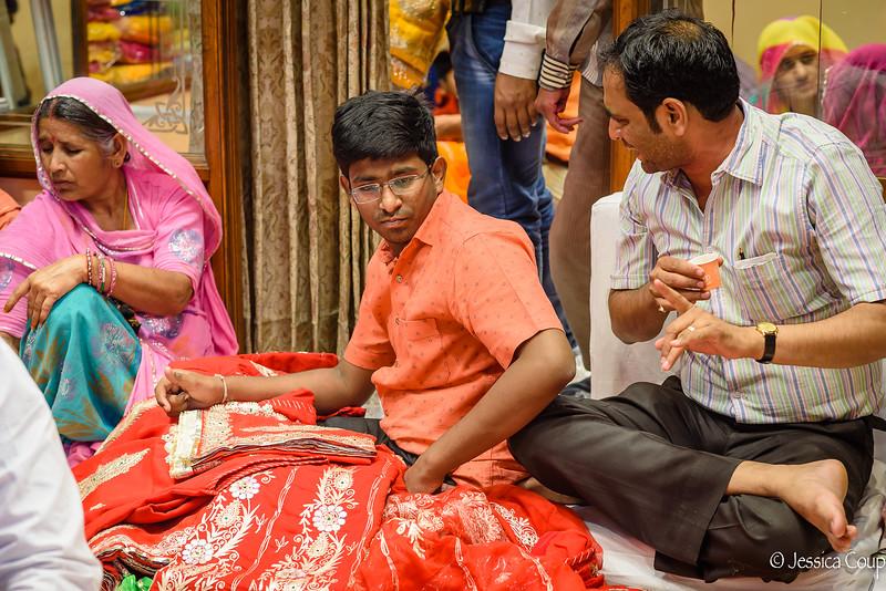 Presenting the Saris