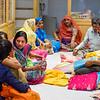 Women Picking Out Saris