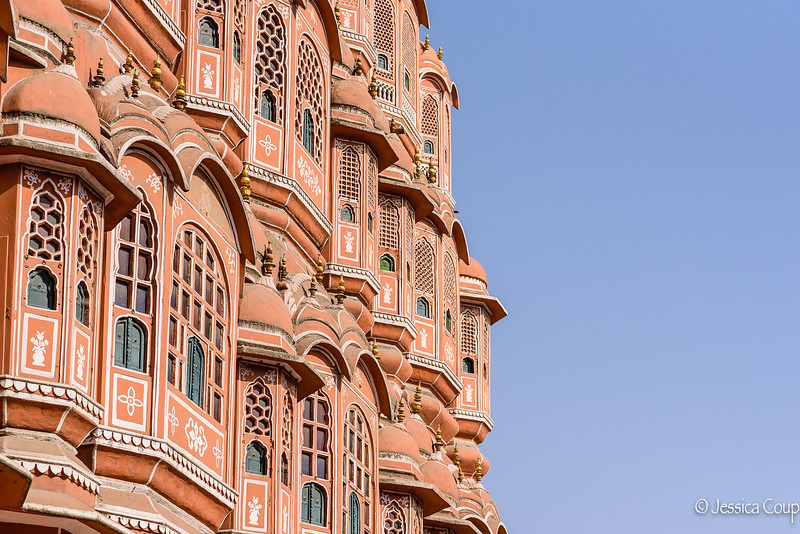 Windows of Hawa Mahal Palace