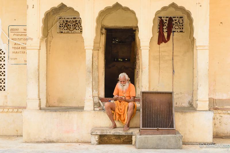 Pranayama, Meditation, Yoga and Mantra at Monkey Temple