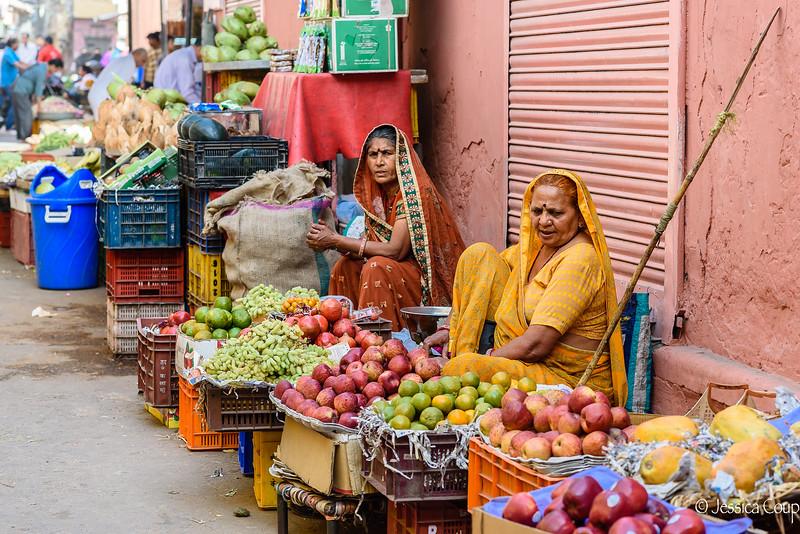 Fruit Market in Jaipur