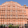 Sun on Hawa Mahal Palace