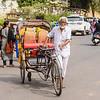 Pushing the Rickshaw