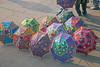 Colorful Umbrellas at Amber Fort
