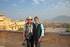 Alan & Judy - Overview of Amber Fort in Jaipur, India