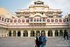Judy & Alan at Jaipur City Palace, Jaipur, India