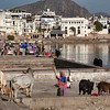 Pushkar at the lake