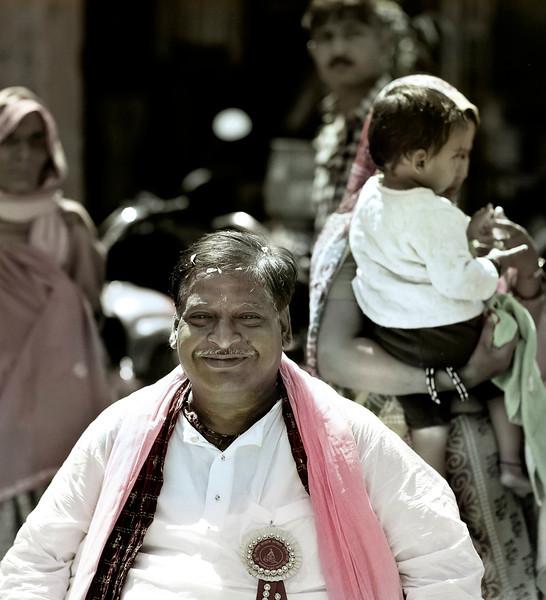 Priest, Hindu Festival, Jaipur, India