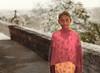 Pink Scarf, Fatehpur Sikri, India