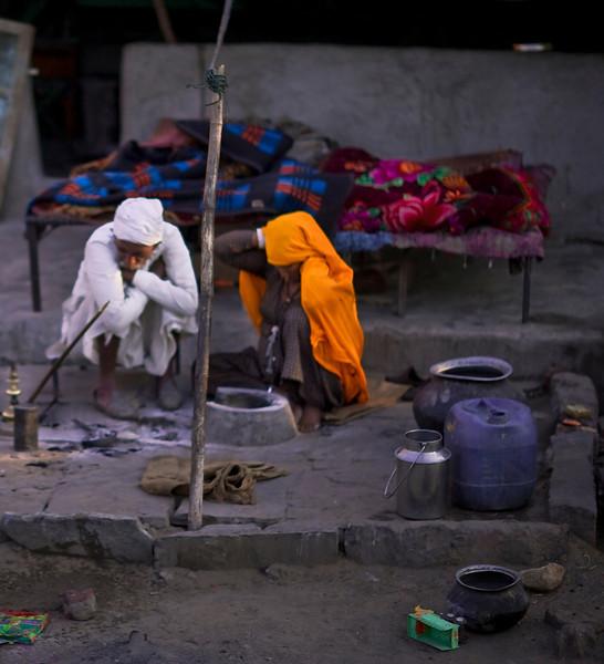Slum, Jaipur, India