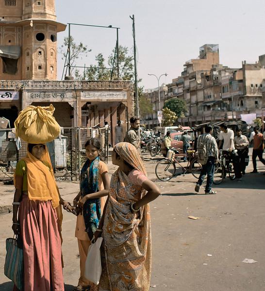 Three Women, Jaipur, India