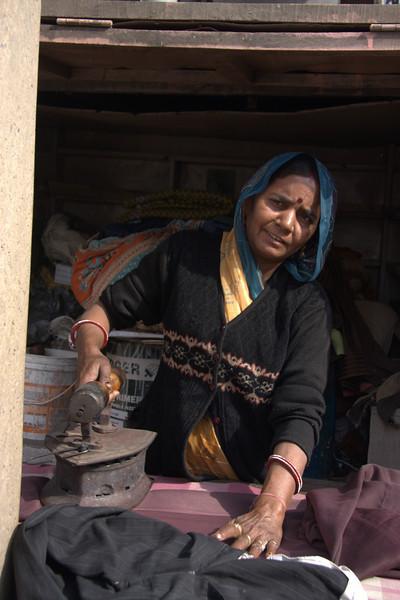 Jaipur's people, hard working!