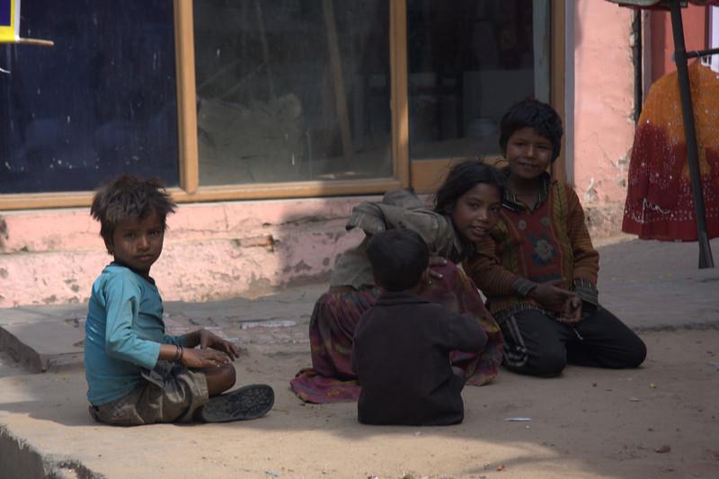 street kids,  the Pink CityJaipur
