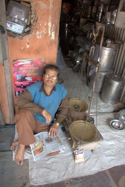 shop owner,  the Pink CityJaipur