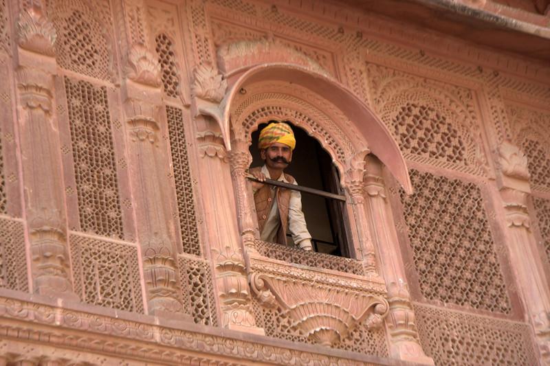 Daulat Khana Chowk at  Mehrangarh Fort Jodhpur, Rajasthan