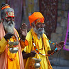 """Aggressive imposters posing as holy men aggressively pursuing donations/money - Jaisalmer, India.  This is a travel photo from Jaisalmer, India. <a href=""""http://nomadicsamuel.com"""">http://nomadicsamuel.com</a>"""