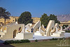 Jantar Mantar astronomical instruments in Jaipur, India