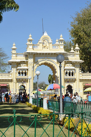 Mysore Palace or Amba Vilas or the Mysore Maharaja Palace