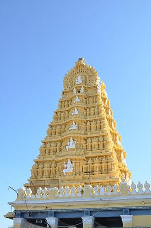 Chamundi Hills, Chamundeshwari Temple and Nandi Bull - Mysore
