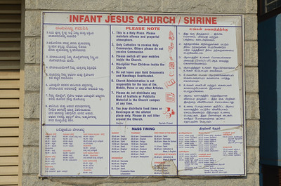 Infant Jesus Shrine / Church - Bangalore