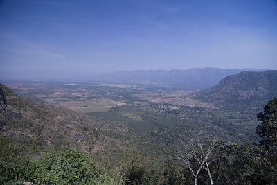 View of the plains leading to Madurai
