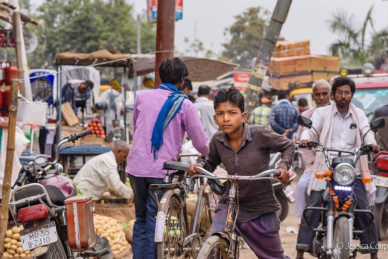 Biking Through Traffic