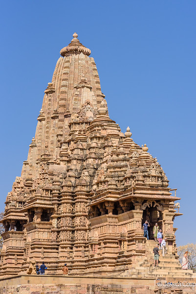 Many Spires of a Temple