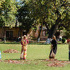 Cleaning the Grounds of the Khajuraho Monuments