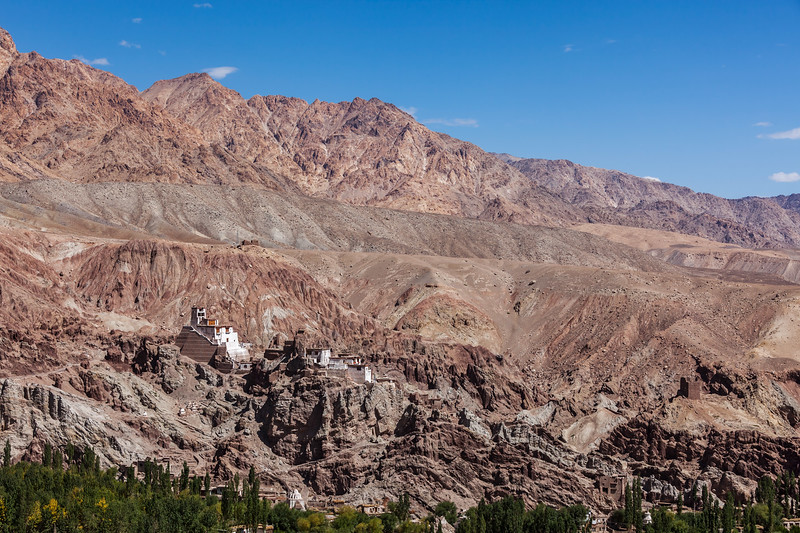Basgo monastery. Ladakh, India