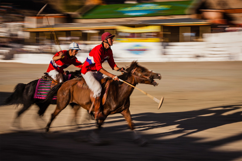 Game of polo, Ladakh