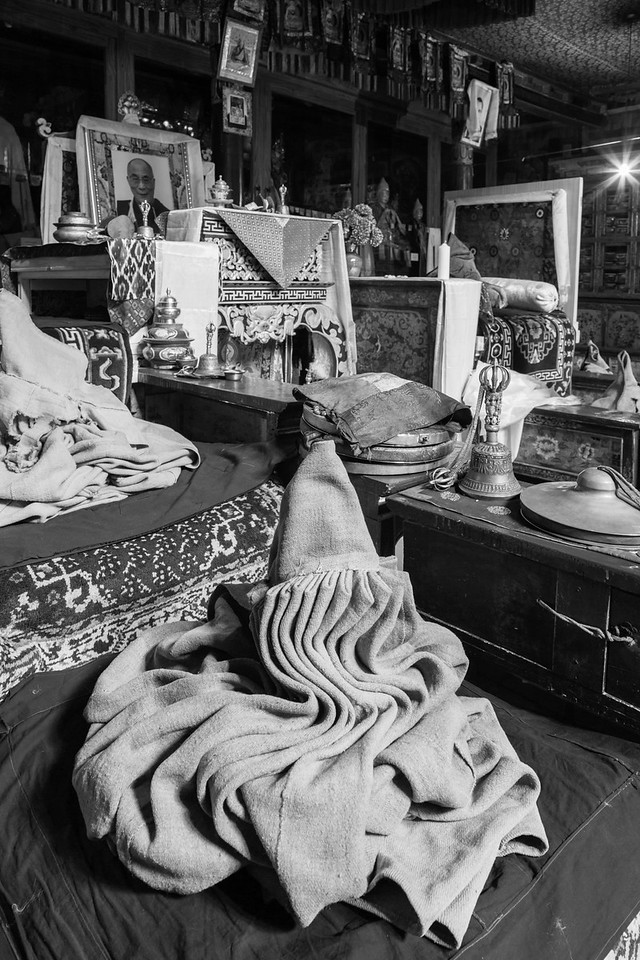Monk's robes, Likir Monastery