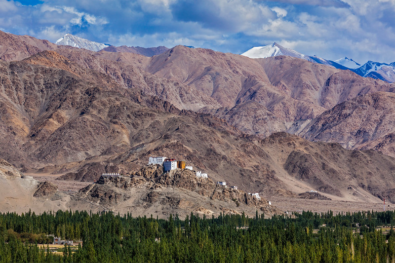 Thiksey monastery. Ladakh, India