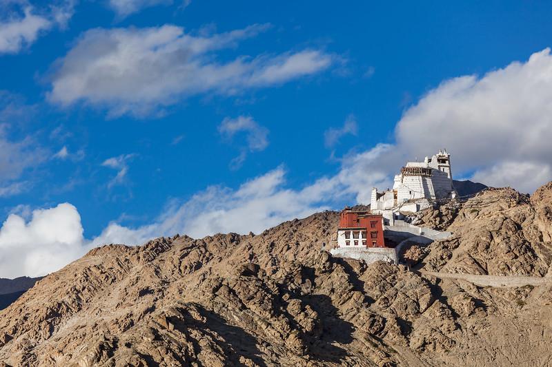 Namgyal Tsemo gompa and fort. Leh, Ladakh, Jammu and Kashmir, India