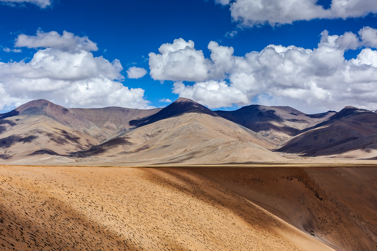 Himalayan landscape.  Ladakh, India