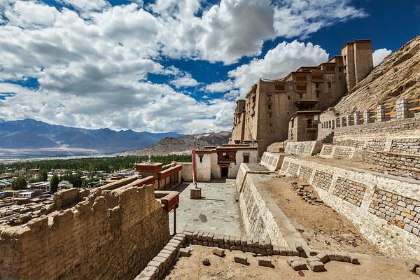 Leh palace, Ladakh, India