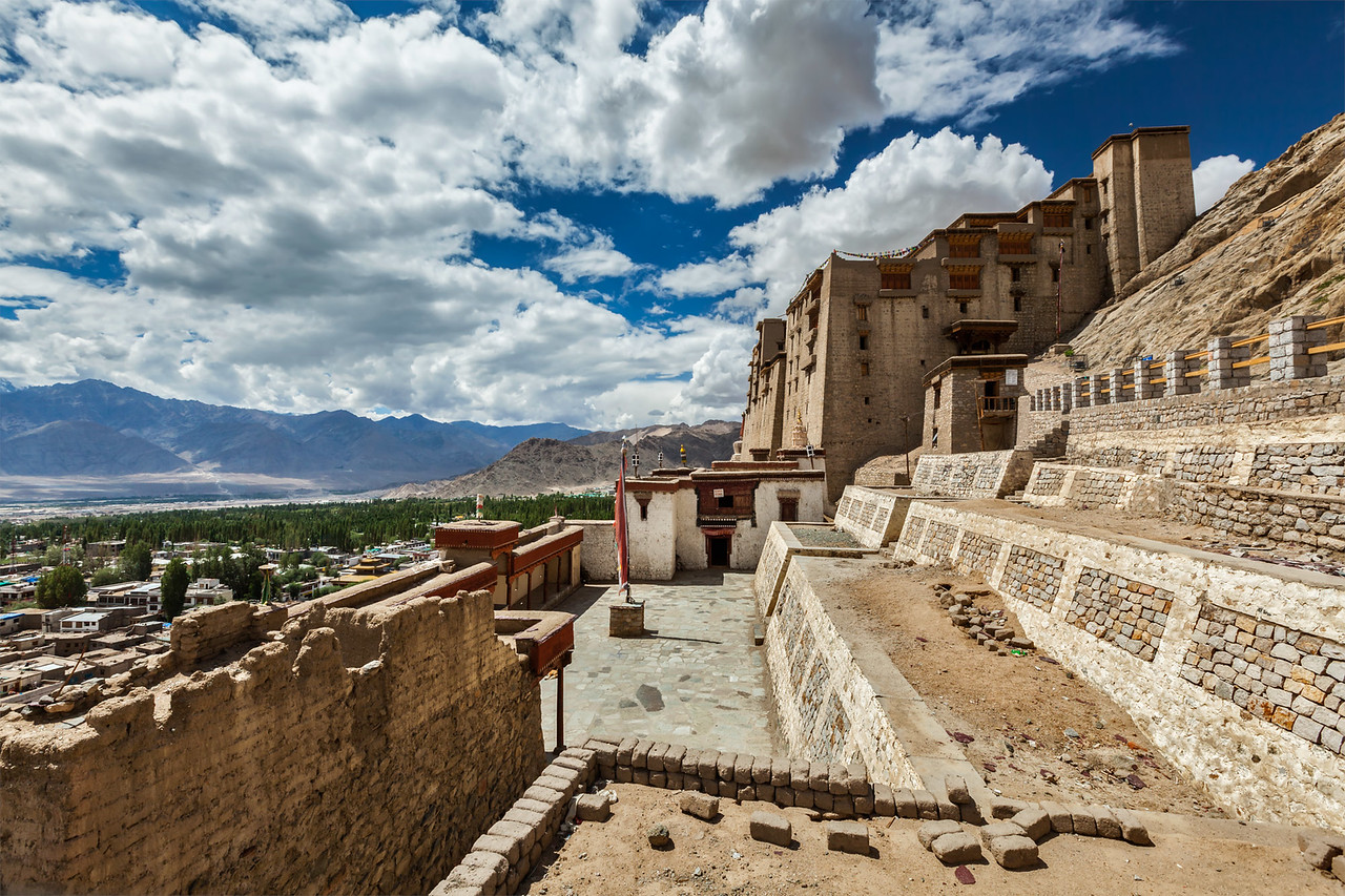 Leh palace, Ladakh, India