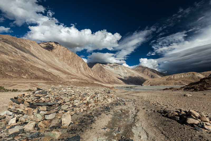 Nubra valley in Himalayas. Ladakh, India