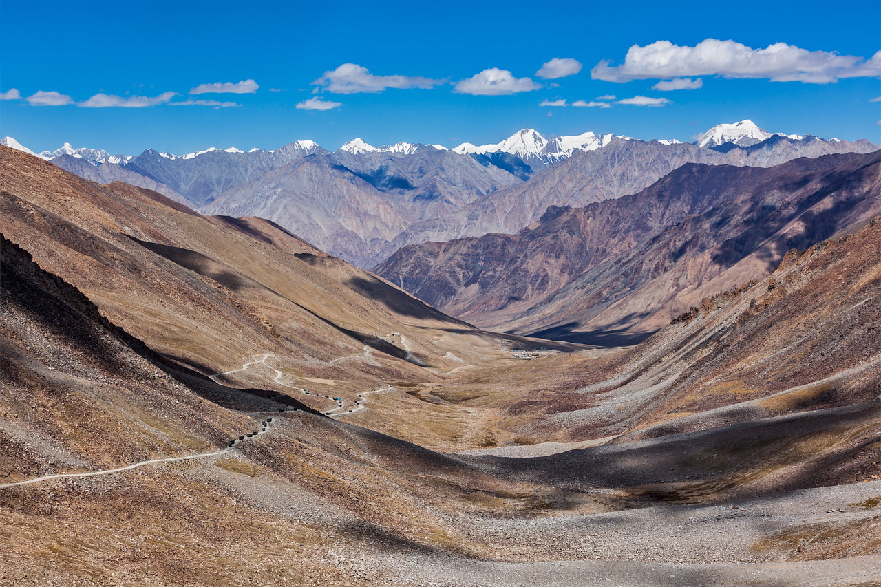 Karakorum Range, Ladakh, India