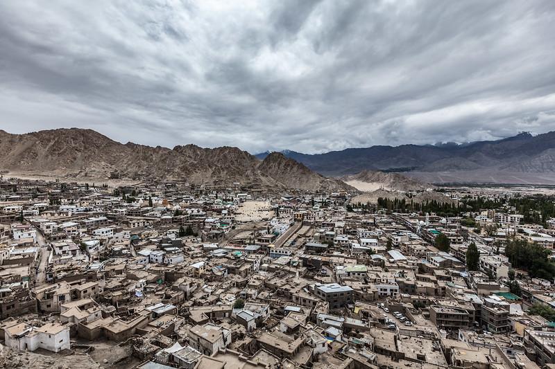 View of Leh. Ladakh, India