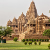 Kandariya Mahadev Temple, Khajuraho, India. Unesco World Heritage Site
