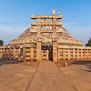 Great Stupa. Sanchi, Madhya Pradesh, India