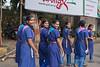 Happy school girls, Mumbai, India