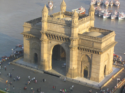 Gateway of India - photographed from the Taj Palace Hotel